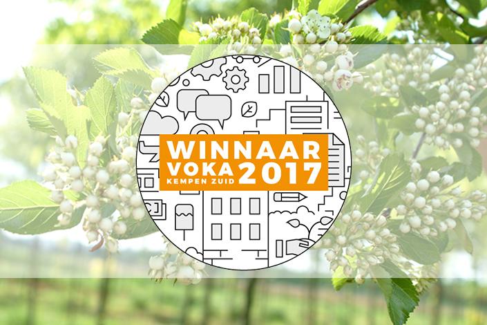 Arbor wint LON-award Voka Kempen Zuid